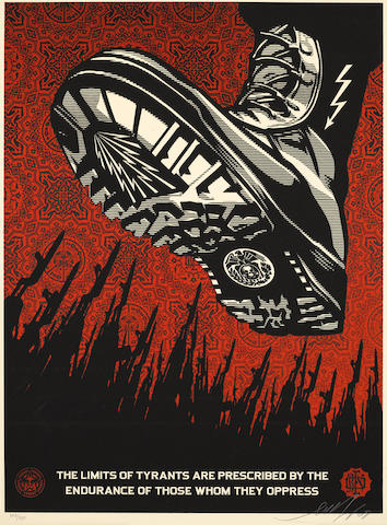 Shepard Fairey-Tyrant Boot-2008