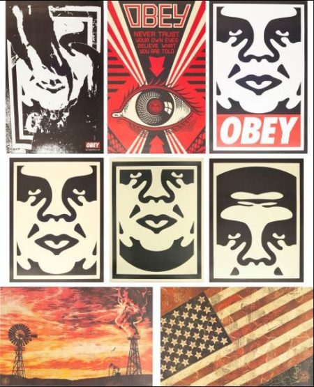 Shepard Fairey-Untitled Set-2005