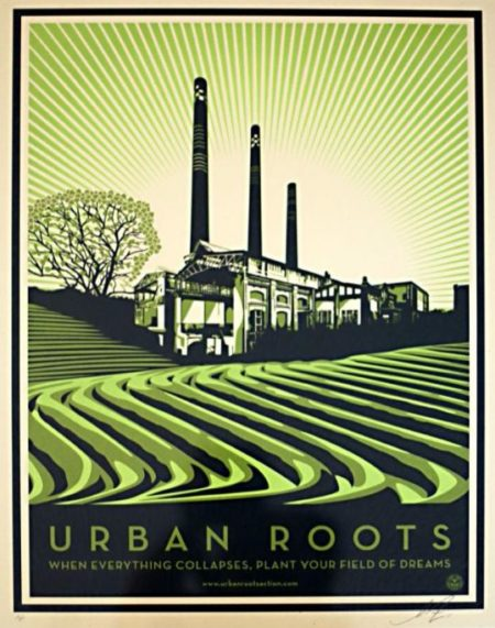 Shepard Fairey-Urban Roots-