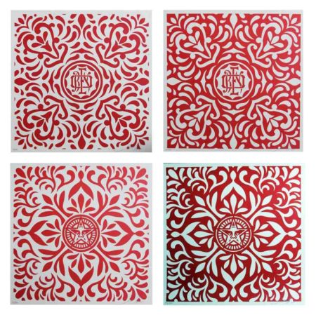Shepard Fairey-Venice Fabric Pattern Set-2009