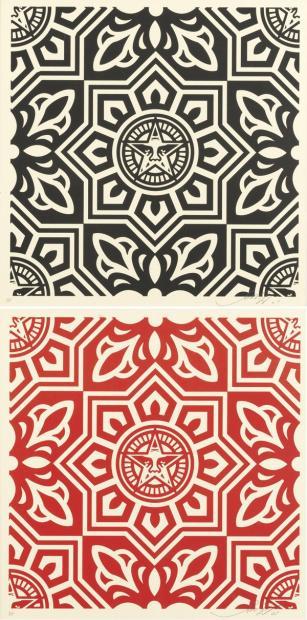 Shepard Fairey-Venice Pattern-2009
