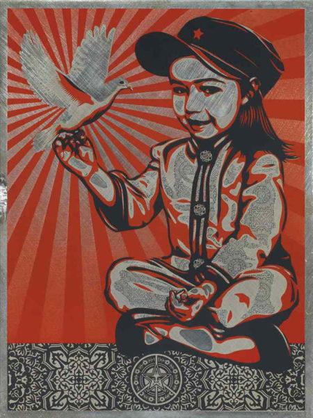 Shepard Fairey-Vivi La Revolution-2007