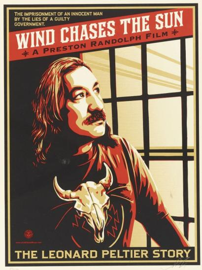 Shepard Fairey-Wind Chases the Sun-2011