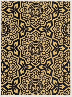 Shepard Fairey-Yen Pattern-2007