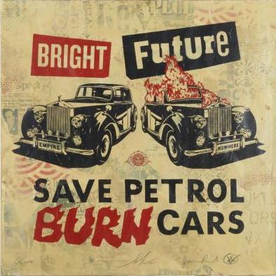 Jamie Reid-Shepard Fairey-Shepard Fairey & Jamie Reid - Bright Future-2012