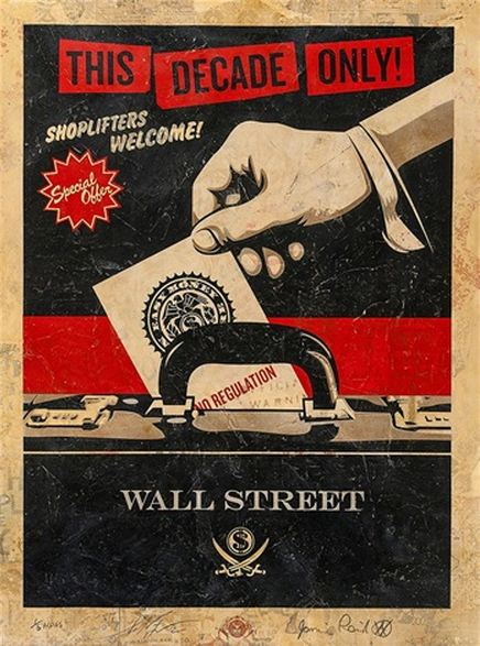 Shepard Fairey-Jamie Reid-Shepard Fairey & Jamie Reid - Shoplifters-2012