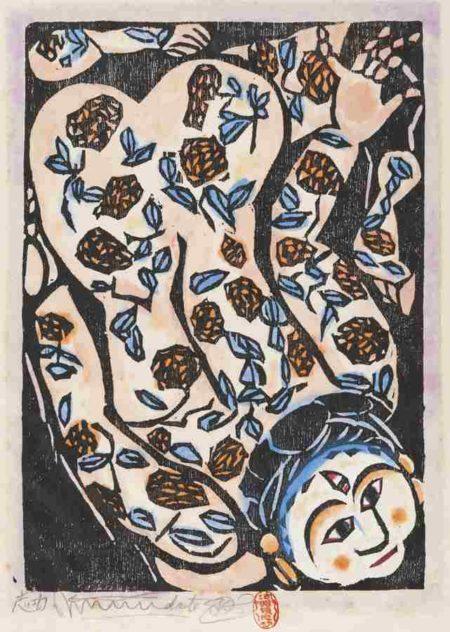 Shiko Munakata-Morning Chrysanthemums-1945