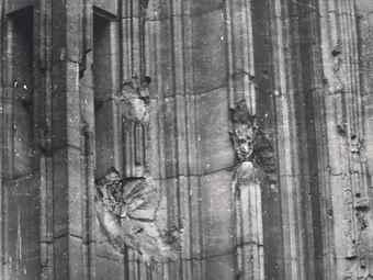 Sigmar Polke-Kolner Dom, Skulptur eines unbekannten Meisters-1984