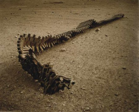 Simon Norfolk-Track Of Destroyed Taliban Tank-2008