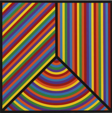 Sol LeWitt-Color Bands, Plate #1-2000
