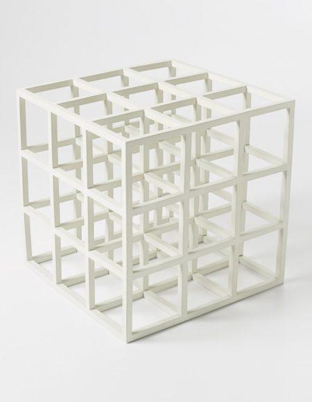 Sol LeWitt-Untitled (Cube)-1979