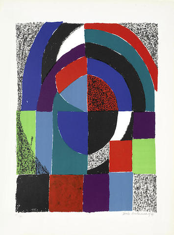 Sonia Delaunay-Cathedrale-1971