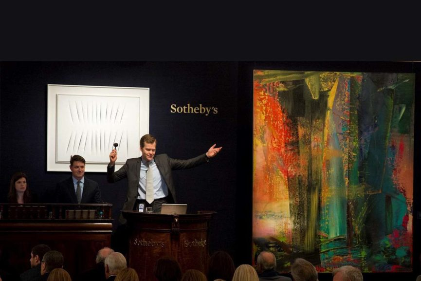 Sotheby's Contemporary Art Evening