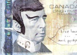 Spocking Canadian Money