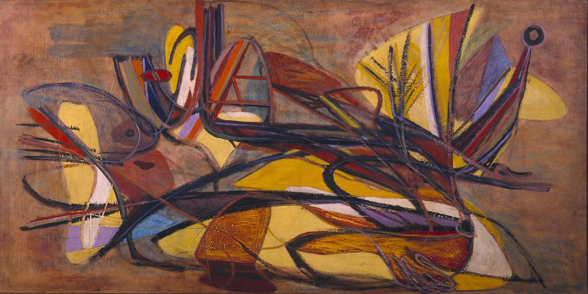Stanley William Hayter - Deliquescence, 1935 - Copyright The estate of Stanley Williams Hayter, Image source Tate museum