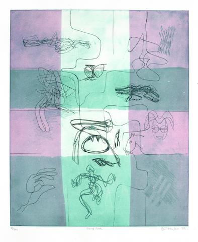 Stanley William Hayter-Loop & Scrap Book-