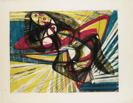 Stanley William Hayter-Unstable Woman-1947