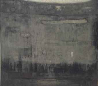 Stefan Gierowski-Painting #LXXV-1959