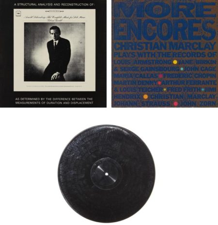 Stephen Prina-Christian Marclay-Stephen Prina and Christian Marclay - A Structural Analysis and Reconstruction of MS 7098; Record Without a Cover; and More Encores-1989