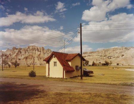 Stephen Shore-Badlands National Monument, South Dakota, July 14-1973