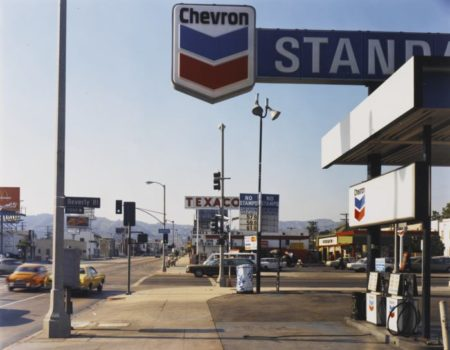 Stephen Shore-La Brea Ave. + Beverly Blvd. Los Angeles California 6/21/75-1975