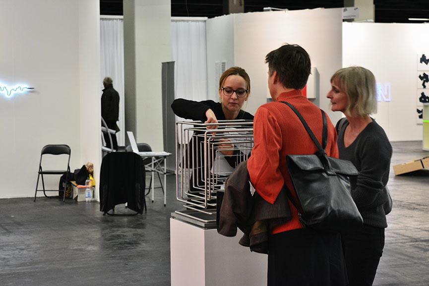 Stiftung Konzeptuelle Kunst presentation at ART.FAIR Cologne 2016