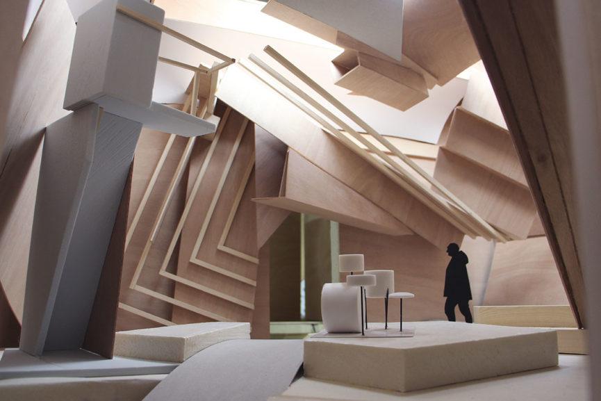 Studio Venezia, Model (detail)