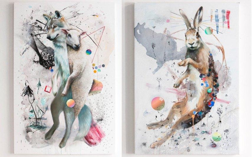 Super A - Wolf / Rabbit