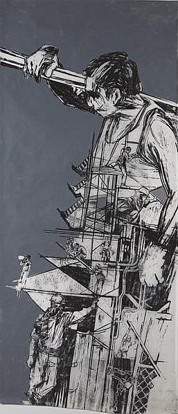 Swoon-Study of a Construction Worker-2005