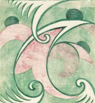 Sybil Andrews-Bathers-1930