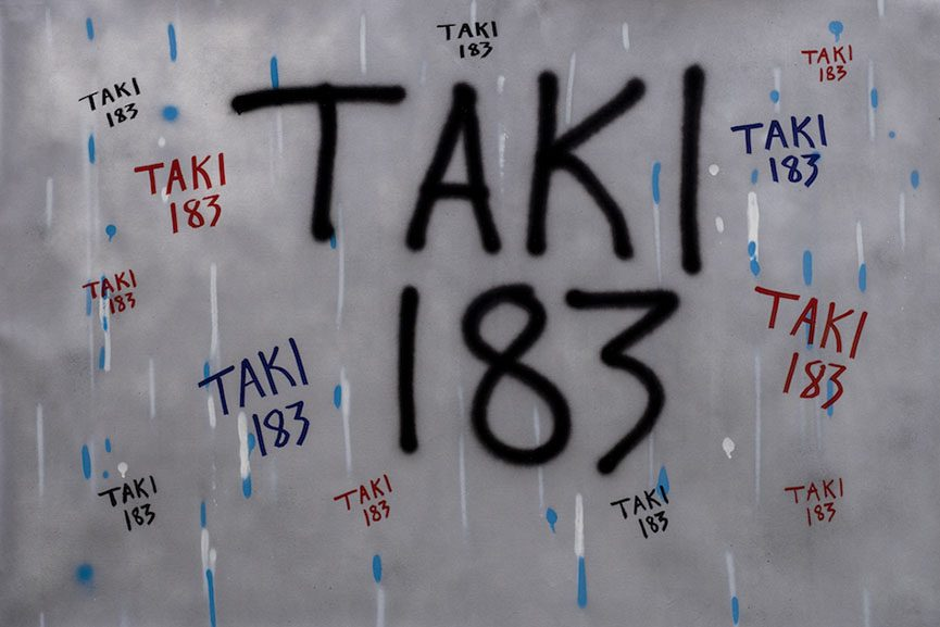 TAKI 183 - Untitled