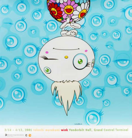 Takashi Murakami-Wink (exhibition poster for Takashi Murakami exhibition)-2001