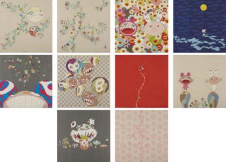 Takashi Murakami-A Portfolio of 10 Works-2001