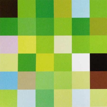 Takashi Murakami-Acupuncture Painting-Terre verte-2006