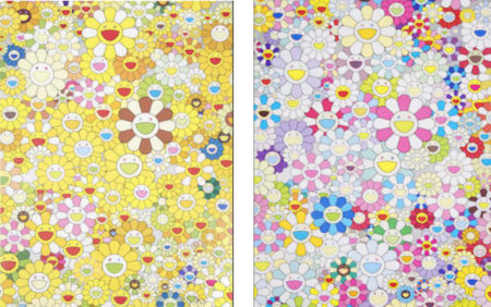 Takashi Murakami-An Hommage to Monogold, An Hommage to Yves Klein-2011