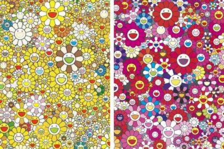 Takashi Murakami-An homage to Mono Gold 1960 C, Homage to Mono Pink 1960 C-2012