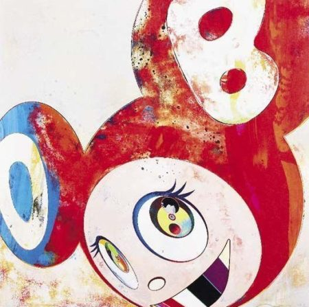 Takashi Murakami-And Then (Abstraktes Bild)-2006