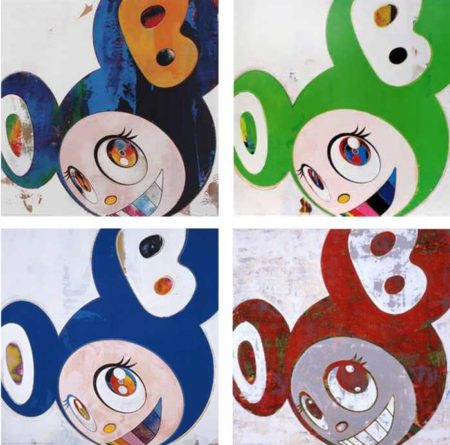 Takashi Murakami-And Then (Cream, Green Truth, And Then, And Then)-2008