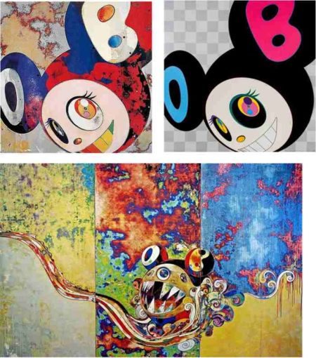Takashi Murakami-And Then (Gargle Glop, Black), 727-727-2006
