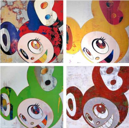 Takashi Murakami-And Then (Gargle Glop, Yellow Jelly, Kappa, And Then)-2008