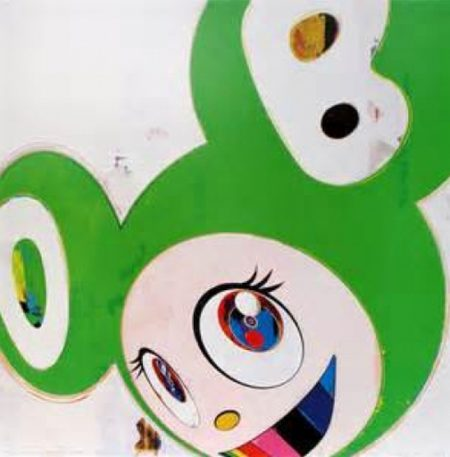 Takashi Murakami-And Then (Green Truth)-2008
