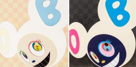 Takashi Murakami-And Then (Ichimatsu Pattern, Platinum)-2006