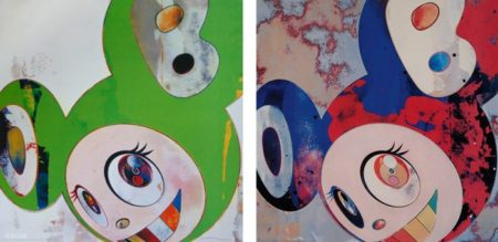 Takashi Murakami-And Then (Kappa), And Then (Gargie Glop)-2006