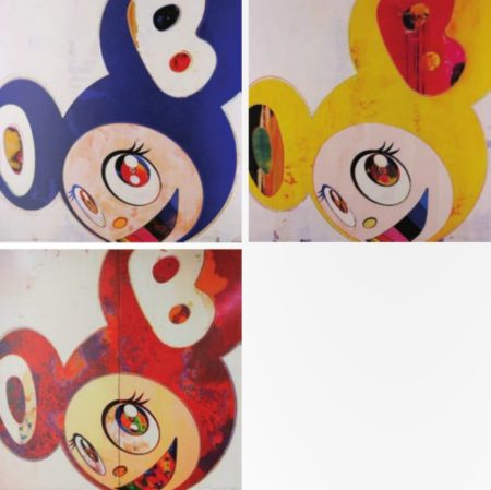 Takashi Murakami-And Then (Original Blue, Lemon Pepper, I Change)-2010