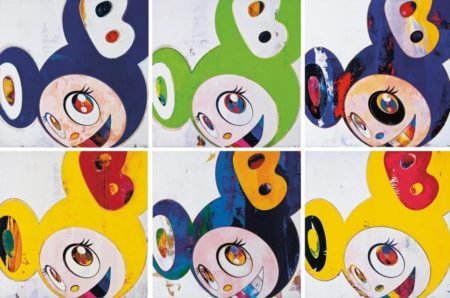 Takashi Murakami-And Then (Original Blue, Yellow Jelly, Green Truth, Hello, Cream, Lemon Pepper)-2008