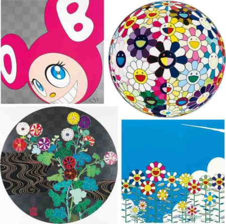 Takashi Murakami-And Then (Pink), Flowerball (3d) From The Realm Of The Dead, Flower, Kansei-2009
