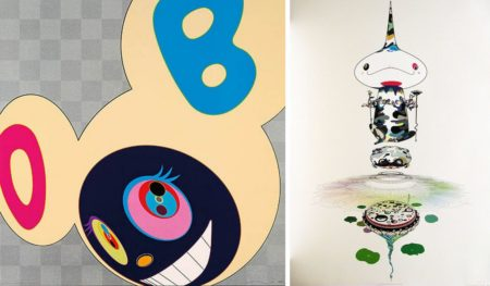 Takashi Murakami-And Then (Platinum), Reversed Double Helix-2008