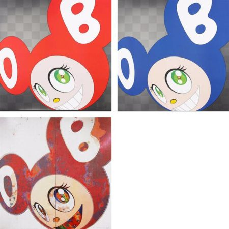 Takashi Murakami-And Then (Red, Blue, When That's Done I Change...)-1999