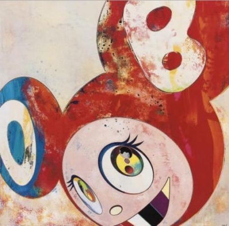 Takashi Murakami-And Then (Super Dob)-1996