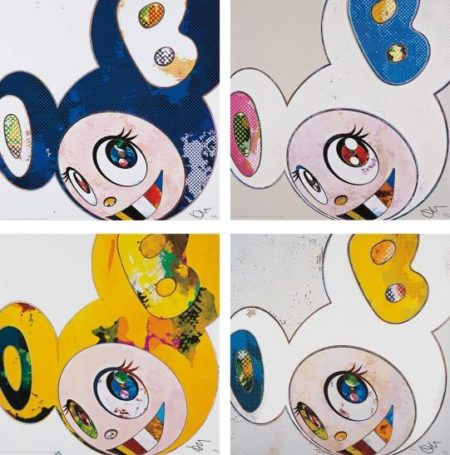 And Then x 6 (Marine Blue, White -Pink and Blue Ears, White - Blue and Yellow Ears - The Superflat Method, Yellow Universe)-2013